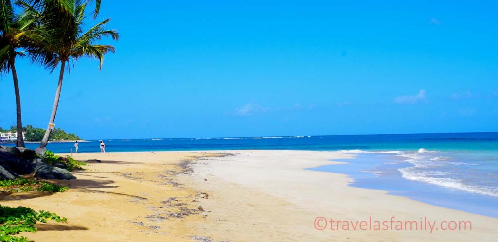 Blue and bright- Luquillo Beach